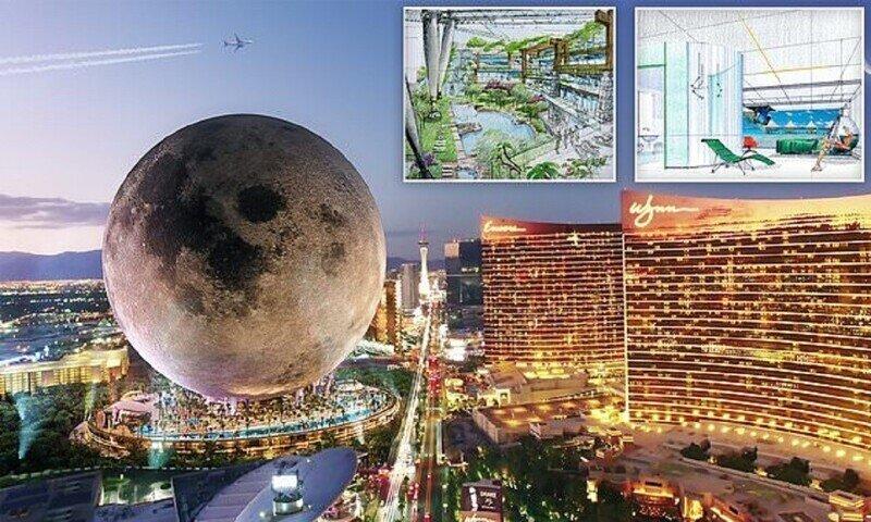 В Лас-Вегасе построят Луну