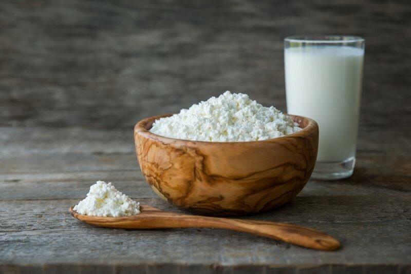 Как сделать домашний творог из молока или кефира. 6 простых способов