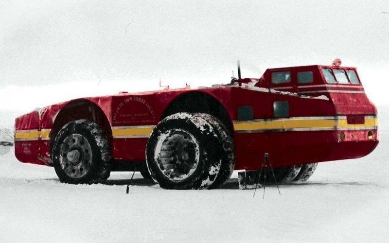 «Снежный крейсер» — американский вездеход для Антарктиды