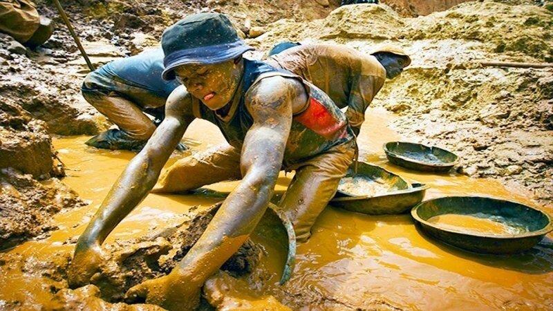 Как сегодня в мире добывают, находят и перерабатывают золото