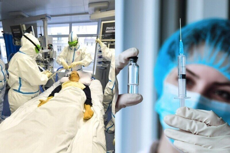 В Екатеринбурге умер пациент ковид-клиники, который прошел полный курс вакцинации от коронавируса