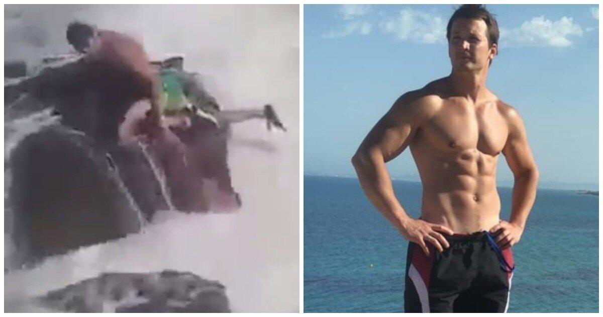 Россиянин утонул в штормящем море в Испании, пытаясь спасти коллегу из Финляндии