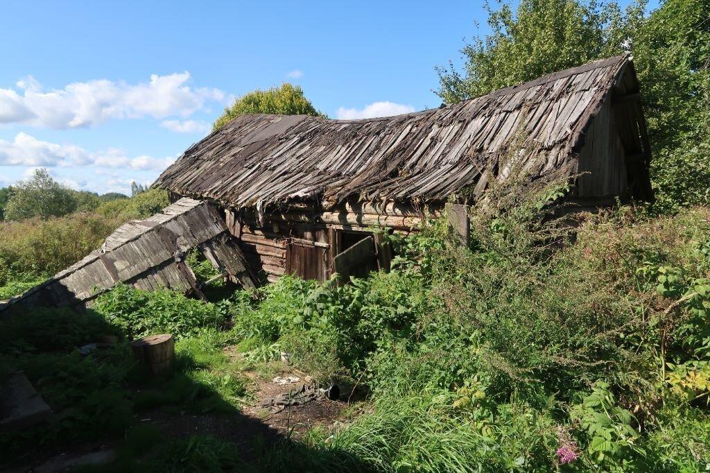 Опустевшие деревни Псковской области