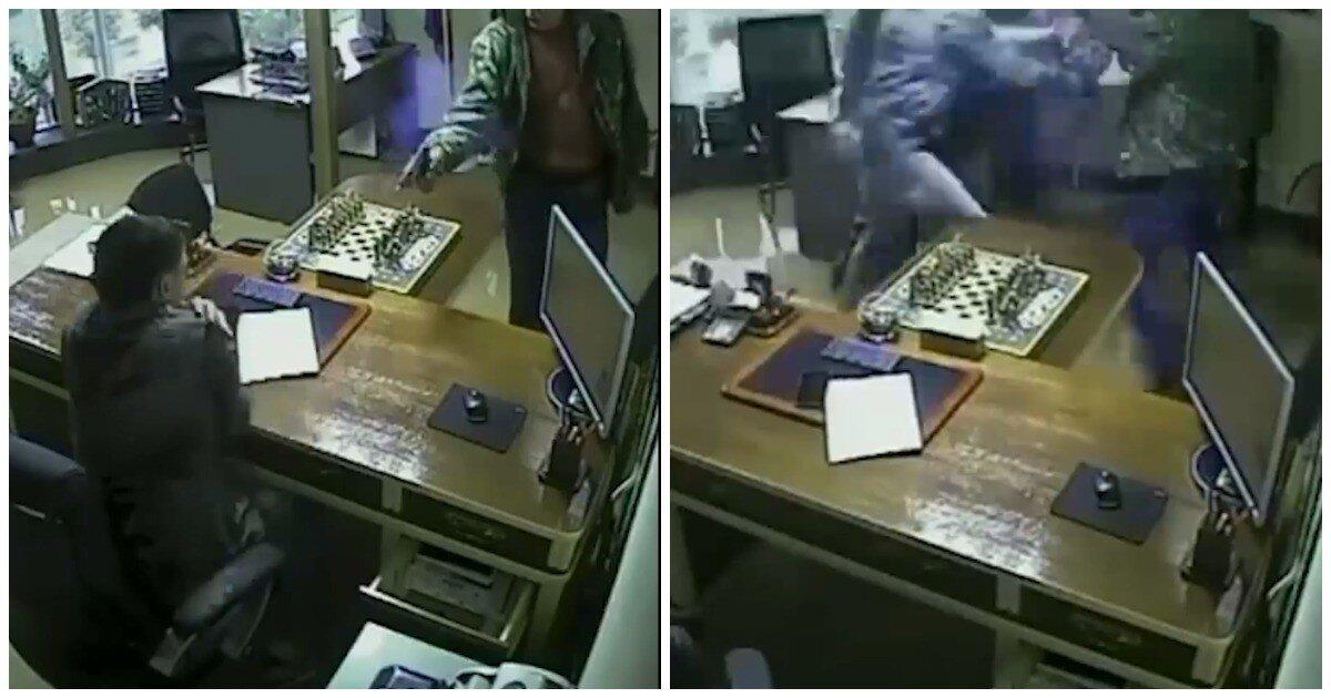 В Приморье киллер попытался застрелить бизнесмена, но его пистолет дважды дал осечку
