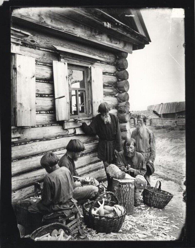 Дореволюционная Россия: производство