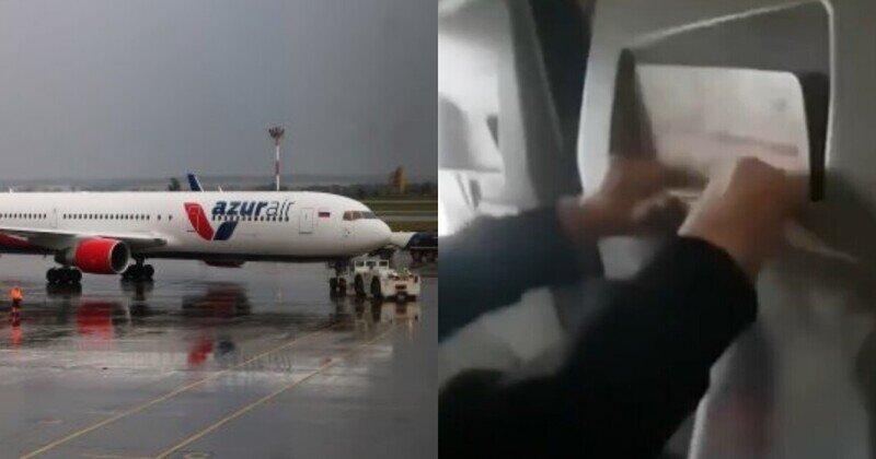 """""""Мы падаем!"""": в Сети появилось видео с моментом попадания молнии в самолет под Краснодаром"""