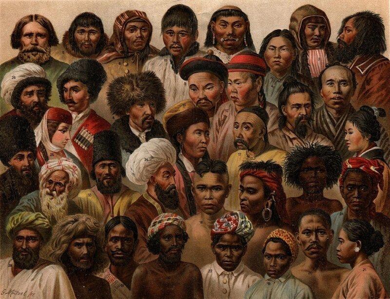 Население Земли. Человеческие расы