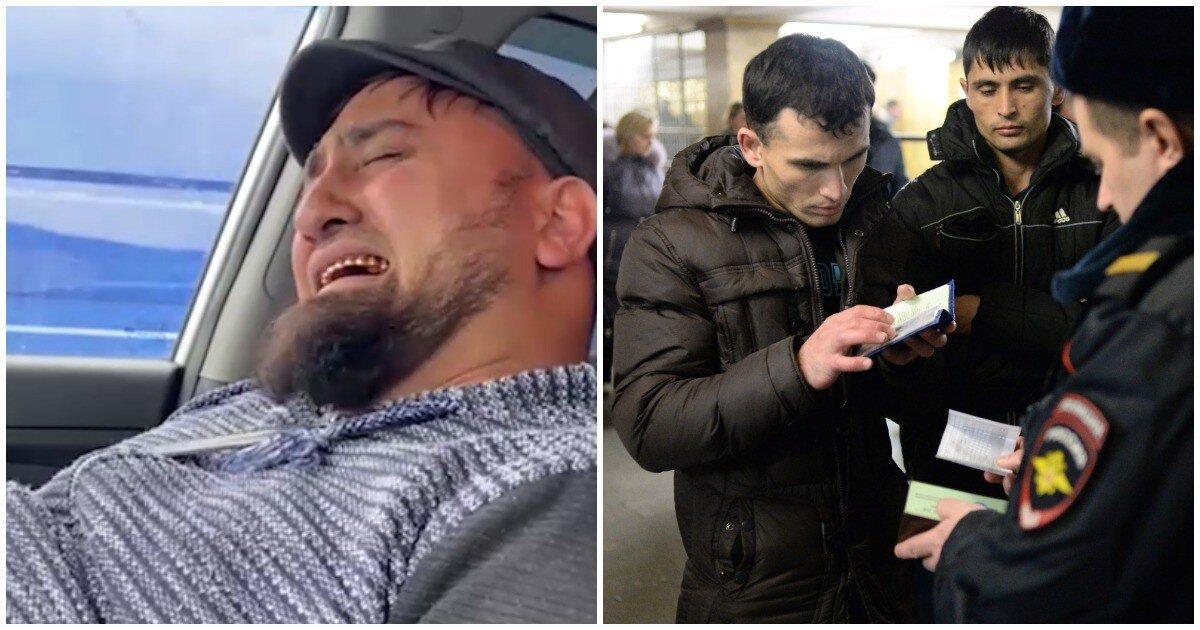 Мигрант выманил у пенсионерки полмиллиона рублей и разрыдался после задержания