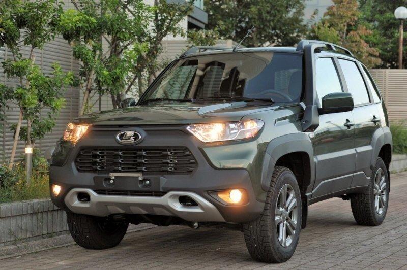 В Японию завезли новую Lada Niva Travel, там за нее просят более двух миллионов рублей