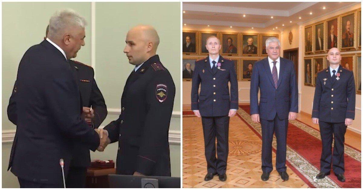 Глава МВД вручил награды полицейским, обезвредившим массового убийцу в Перми