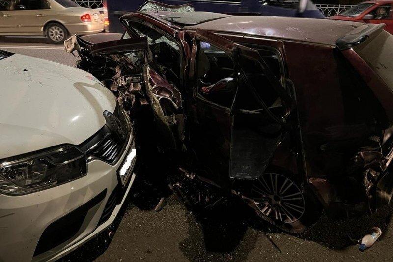 Авария дня. Массовое ДТП с погибшим в Волгограде