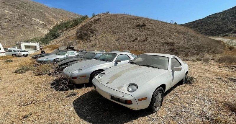 Сенсационная находка: в Южной Калифорнии обнаружили 13 классических Porsche в карьере