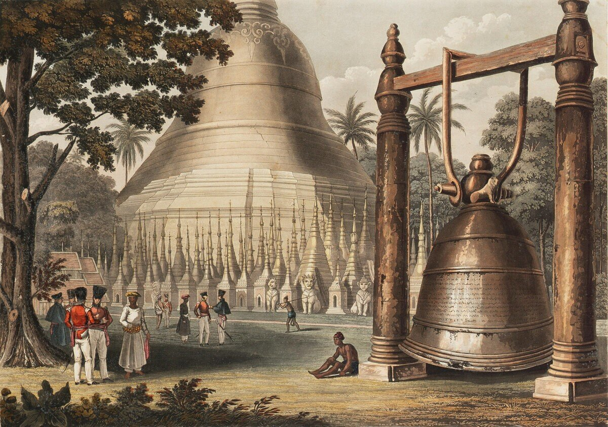 Думаете «Царь-колокол» – самый большой в мире? «Дхаммазеди» даже корабль на дно утянул!