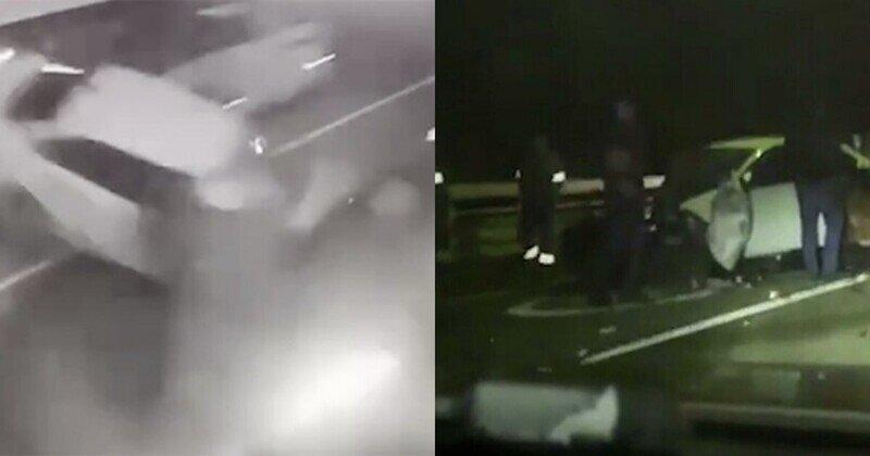 """""""Никакой пробки!"""": опубликованное видео пролило свет на ДТП с участием Собчак"""