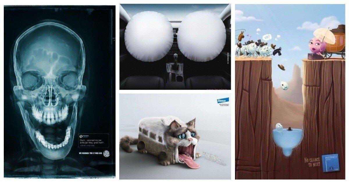22 примера жгучей рекламы, которая покажет как надо думать мозгом