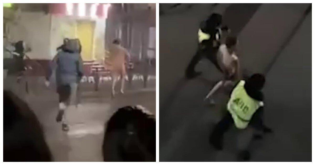 В Югре мужчина сиганул нагишом с четвёртого этажа и дал драпа от полиции