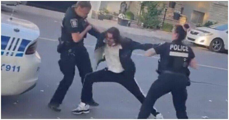 Женщины-полицейские потерпели неудачу, когда пытались задержать подозреваемого