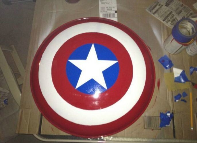 And you have the perfect replica shield