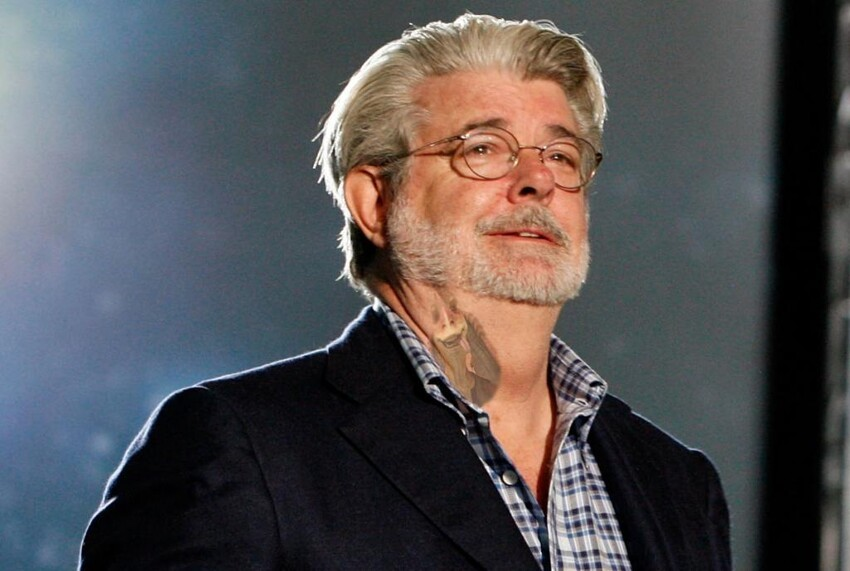 George Lucas Neck Tattoo