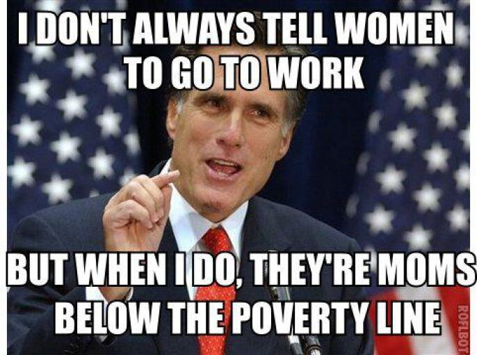 Romney On women working