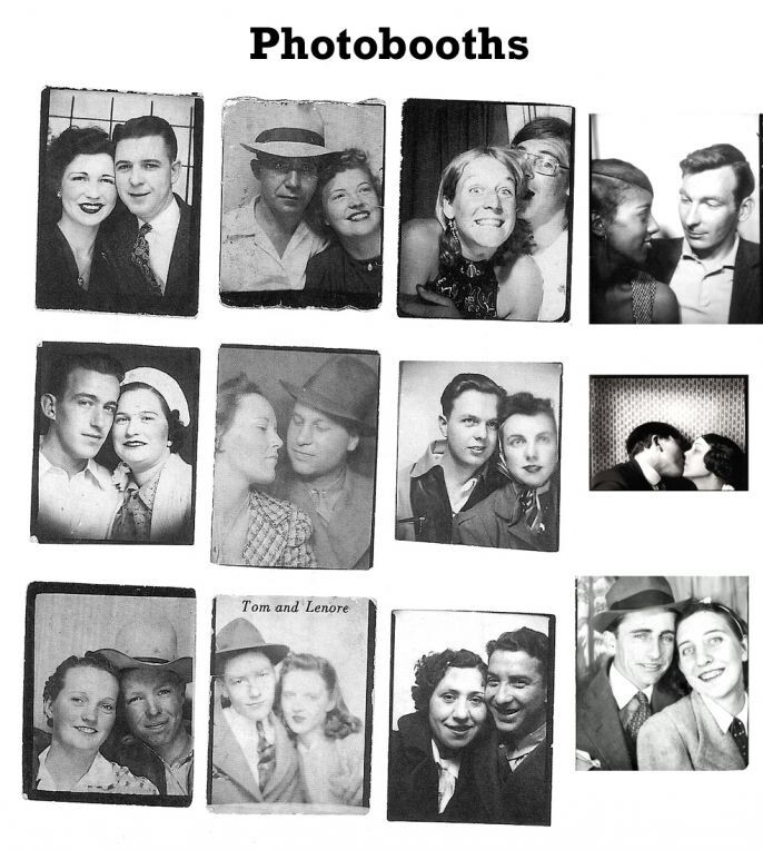 Love in photo booths