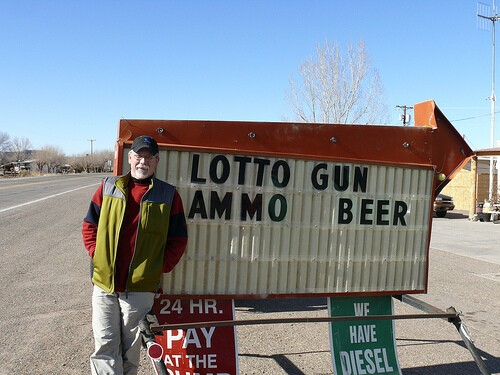 Guns and the lotto