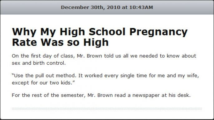 High Pregnancy Rate