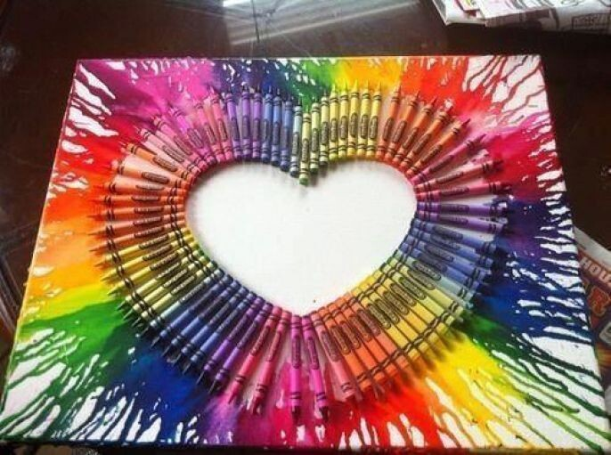 Awesome Crayon Art