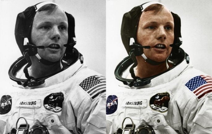 Astronaut Photo Recolored