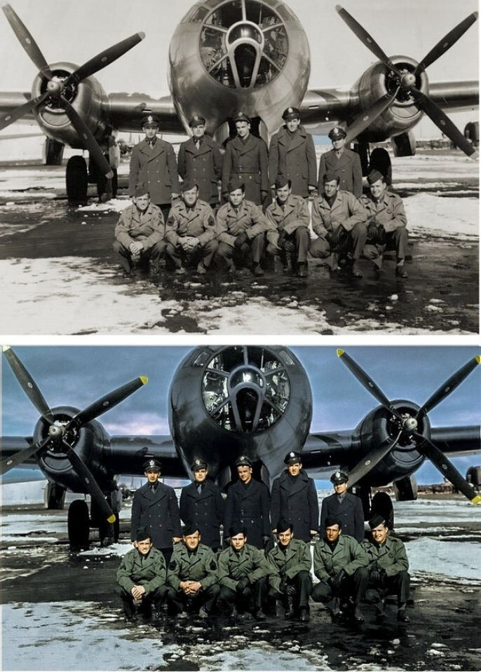Old War Photo Restored