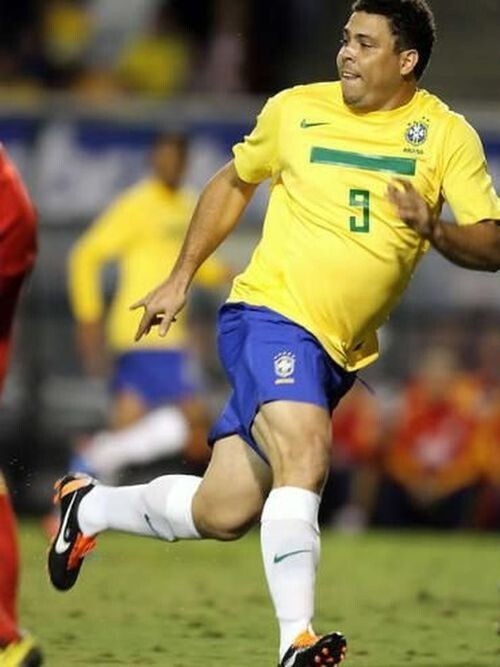 Ronaldo De Assis Moreira Fat Soccer Player