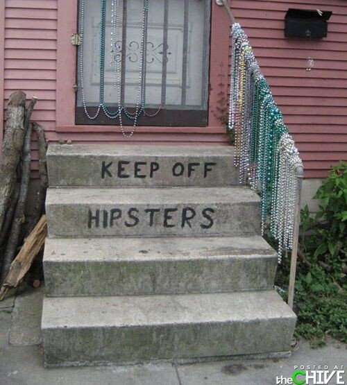 Hipster Stairs