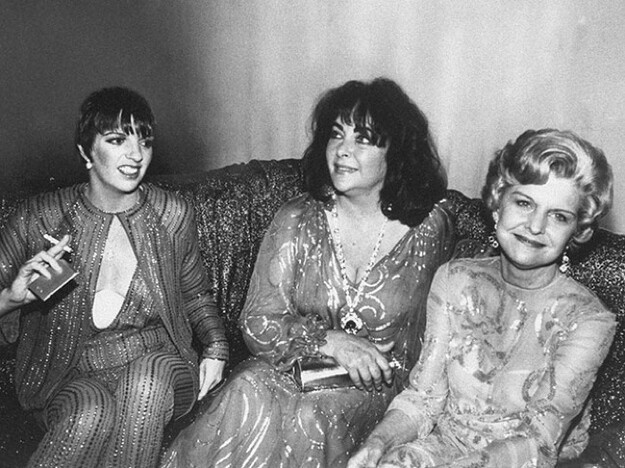 Betty Ford with Liza Minelli and Liz Taylor