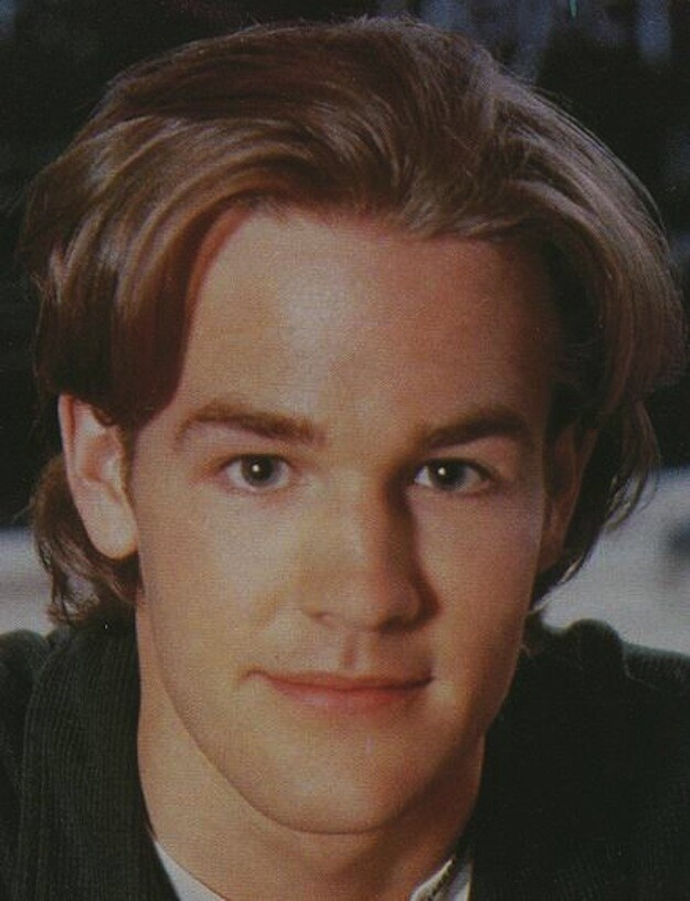 Young James Van Der Beek