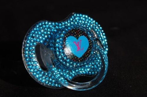 Gorgeous Blue Pacifier