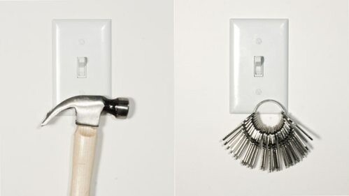 Magnetic Light Switches