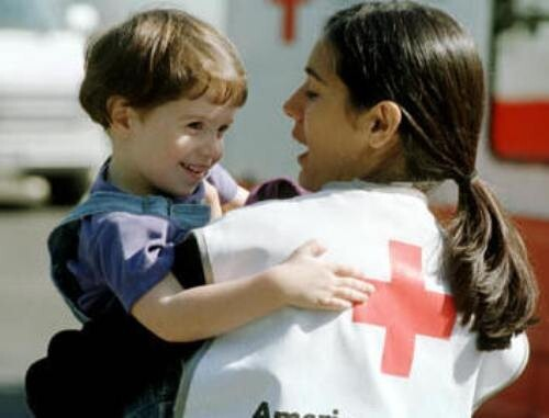 Red Cross Worker