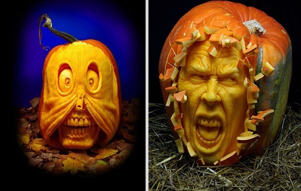 Hyperrealistic Pumpkin Carving