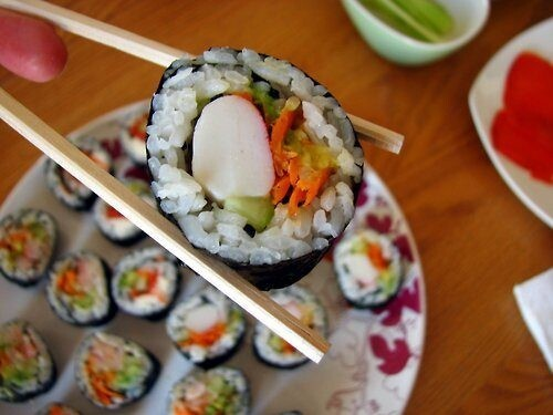 Food Porn: Because Who doesn't like sushi?