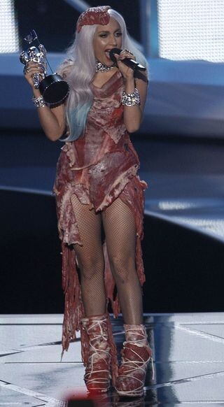 The meat dress