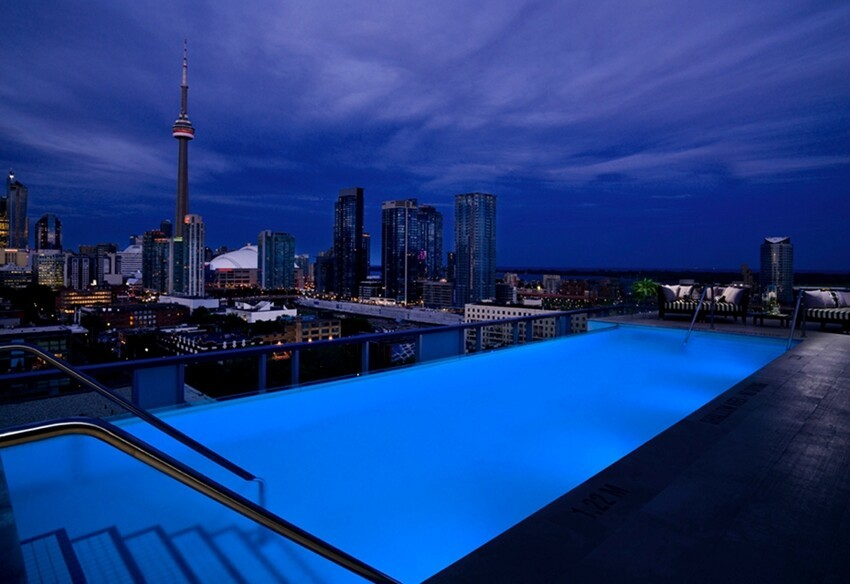 The World's Sexiest Rooftop Pools