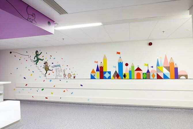 Children's Hospitals with Beautiful Interior