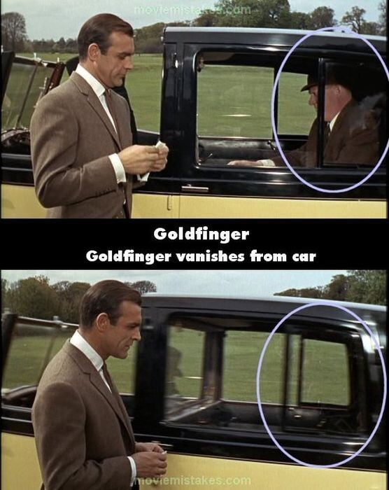 Bond Movie Bloopers