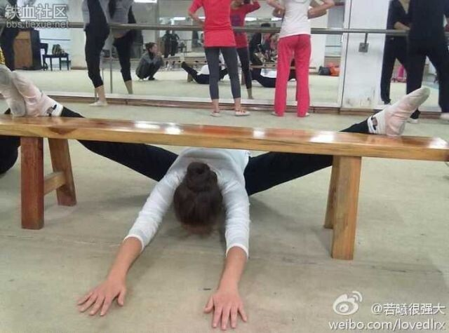 Chinese Planking