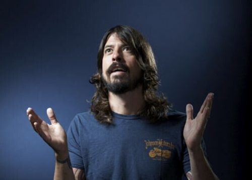 David Grohl: Hottest rock Hottie out there.