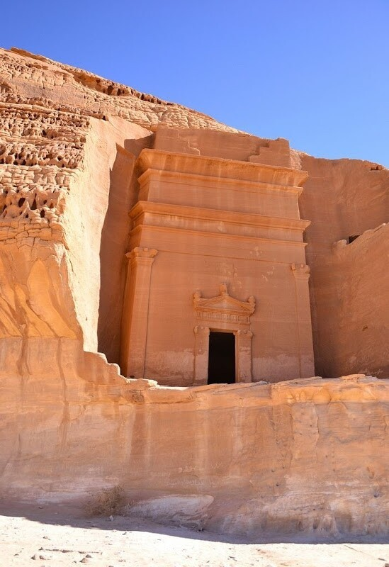 Madain Saleh in Saudi Arabia