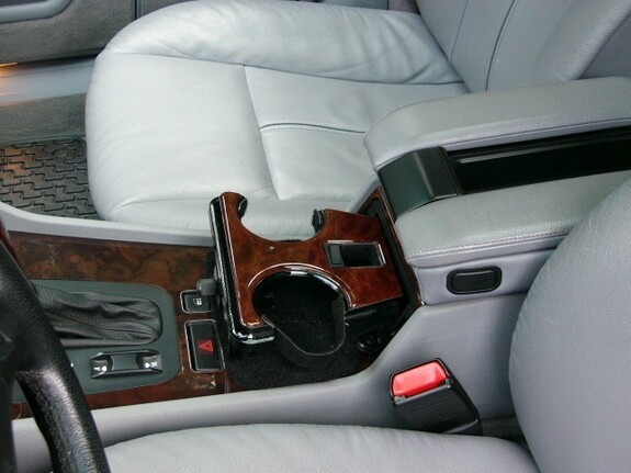 Cup holders in cars are on the right hand side
