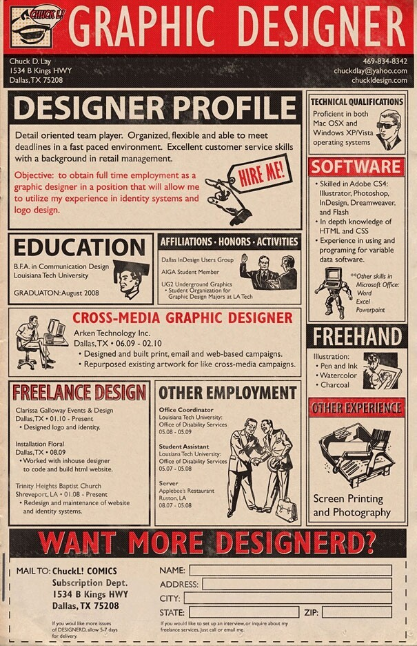 Awesome Creative Resumes