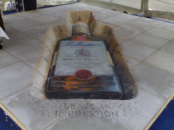 Breathtaking Sidewalk Art