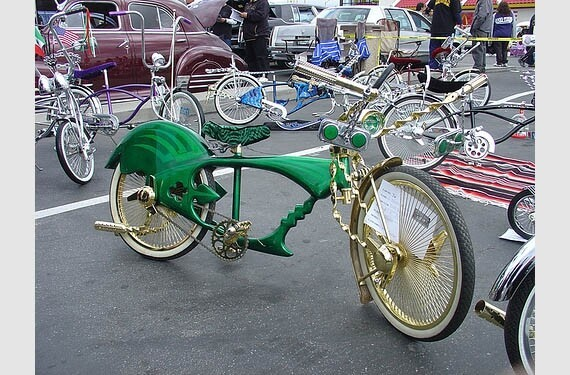 Pimped out bikes